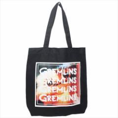 グレムリン トートバッグ 帆布トート ギズモ ブラック 36×36×8cm キャラクター グッズ