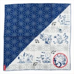 スヌーピー ランチクロス コットンナフキン オノマトペシリーズ アサノハ ピーナッツ 45×45cm キャラクター グッズ メール便可