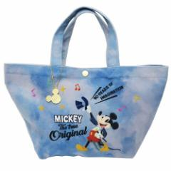 ミッキーマウス ランチバッグ ミニ トートバッグ タキシードMICKEY ディズニー 38×22×17cm キャラクター グッズ