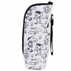 スヌーピー ペットボトルホルダー 保温保冷ボトルケース スケッチ ピーナッツ 哺乳瓶ケース キャラクター グッズ