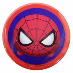 スパイダーマン 缶バッジ ビッグ カンバッジ マーベルツムツム 直径4.3cm キャラクター グッズ メール便可