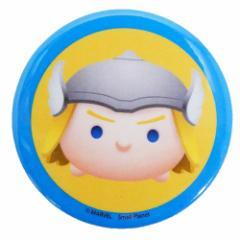 マイティソー 缶バッジ ビッグ カンバッジ THOR マーベルツムツム 直径4.3cm キャラクター グッズ メール便可