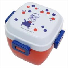 ムーミン お弁当箱 4点ロックサラダランチボックス リトルミイ トリコロール 北欧 620ml キャラクター グッズ