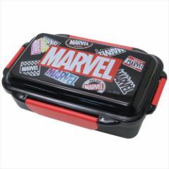 MARVEL お弁当箱 4点ロックふわっと1段ランチボックス ちらし マーベル 500ml キャラクター グッズ