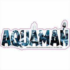アクアマン ステッカー ダイカット ステッカー B DCコミック デコシール キャラクター グッズ メール便可