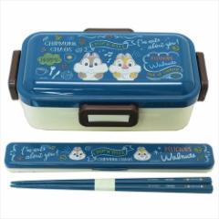 チップ&デール ランチセット お弁当2点セット カフェボード ディズニー 通学 通勤 弁当箱 カトラリー キャラクターグッズ