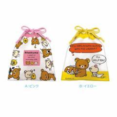リラックマ キャラクター ギフト お菓子 巾着袋 in 丸コーンパフ チョコレート サンエックス キッズ 小学生 中学生 高校生