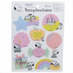 スヌーピー シール メッセージ デコ ステッカー PKS165 ピーナッツ 手帳 シール キャラクター グッズ メール便可