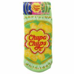 チュッパチャップス 女性用靴下 レディースソックス パイナップル おやつ 22〜24cm キャラクター グッズ メール便可