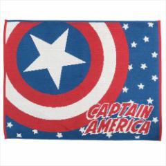 キャプテンアメリカ お風呂マット タオルバスマット ニューマラススター マーベル 45×60cm キャラクター グッズ