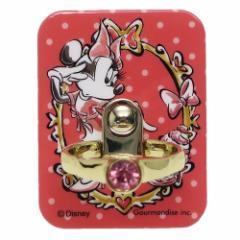 ミニーマウス スマホアクセ ジュエリースマホリング 指輪型 ディズニー スマホリング キャラクター グッズ
