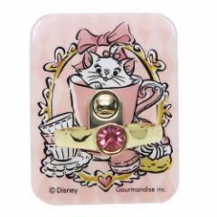 おしゃれキャット マリー スマホアクセ ジュエリースマホリング 指輪型 ディズニー スマホリング キャラクター グッズ