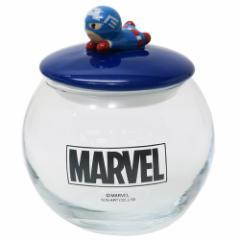 キャプテンアメリカ 保存容器 ガラスキャニスター KAWAIIシリーズ マーベル ギフト食器 キャラクター グッズ