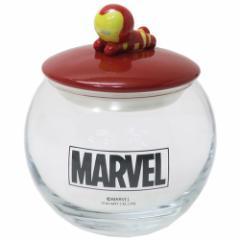 アイアンマン 保存容器 ガラスキャニスター KAWAIIシリーズ マーベル ギフト食器 キャラクター グッズ