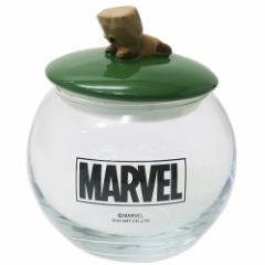 グルート 保存容器 ガラスキャニスター KAWAIIシリーズ マーベル ギフト食器 キャラクター グッズ