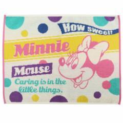 ミニーマウス バス用品 タオル バスマット チアフルミニー ディズニー 60×45cm キャラクター グッズ