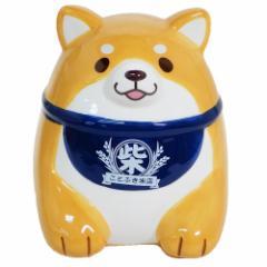 忠犬もちしば 貯金箱 セラミックバンク おかか インテリア キャラクター グッズ