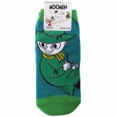 ムーミン 女性用 靴下 レディース ソックス スナフキン パイプ 北欧 23〜25cm キャラクター グッズ メール便可