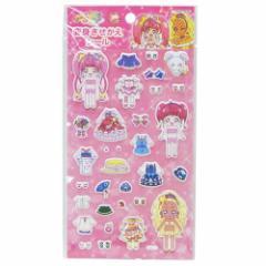 スタートゥインクルプリキュア シールシート きせかえシール Aピンク 知育玩具 アニメキャラクター グッズ メール便可