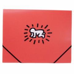 キースヘリング ボックスファイル フォトファイル POP ART 書類整理 アーティスト グッズ