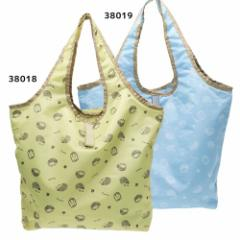 キナコ 保冷 エコバッグ くるくる 保冷 ショッピング バッグ ハリネズミ 47×54×14.5cm かわいい グッズ