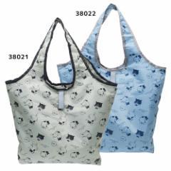 マツネコ 保冷 エコバッグ くるくる 保冷 ショッピング バッグ ねこ 47×54×14.5cm かわいい グッズ