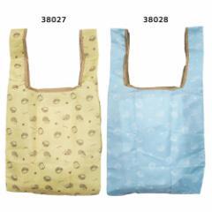 キナコ エコバッグ 折りたたみ ショッピング バッグ ハリネズミ 32×62.5×16cm かわいい グッズ メール便可