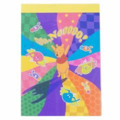 くまのプーさん メモ帳 ミニミニ メモ レトロワールド ディズニー 新学期準備雑貨 キャラクター グッズ メール便可