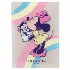ミニーマウス 下敷き デスクパッド レトロワールド ディズニー 新学期準備雑貨 キャラクター グッズ メール便可