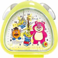 トイストーリー 置時計 おむすびクロック グラフィティ 2 ディズニー 新生活準備 キャラクター グッズ