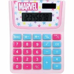 マーベル 計算機 電卓 スター 新学期準備 キャラクター グッズ