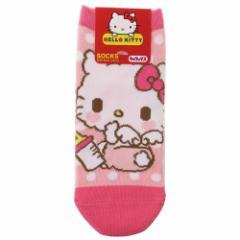 ハローキティ 女性用 靴下 レディース ソックス ベビー サンリオ 23〜25cm キャラクター グッズ メール便可