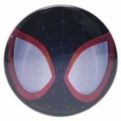 スパイダーマン : スパイダーバース 缶バッジ ビッグ カンバッジ マイルズ・モラレス マーベル 直径5.4cm メール便可