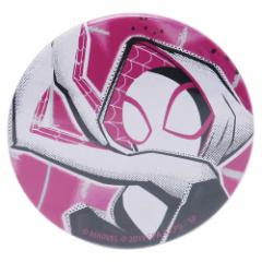 スパイダーマン : スパイダーバース 缶バッジ ビッグ カンバッジ スパイダーグウェン マーベル 直径5.4cm メール便可