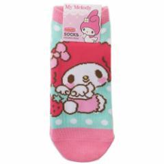 マイメロディ 女性用 靴下 レディース ソックス ベビー サンリオ 23〜25cm キャラクター グッズ メール便可