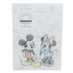 ミッキー & ミニー 下敷き デスクパッド 4136551 ディズニー 新学期準備雑貨 キャラクター グッズ メール便可