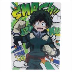 僕のヒーローアカデミア 下敷き デスクパッド デク 少年ジャンプ 新学期 準備 雑貨 アニメ キャラクター グッズ メール便可