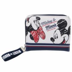 ミッキー & ミニー ジュニア ショート ウォレット 二つ折り財布 スポーティー ディズニー ファッション雑貨 キャラクター グッズ