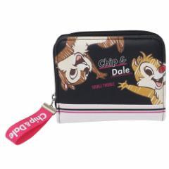 チップ & デール ジュニア ショート ウォレット 二つ折り財布 スポーティー ディズニー ファッション雑貨 キャラクター グッズ