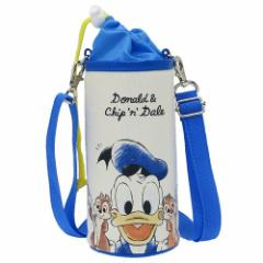 ドナルド & チップ & デール ペットボトルホルダー ショルダー付き 保冷 ボトルケース 2019年新入学雑貨 ディズニー