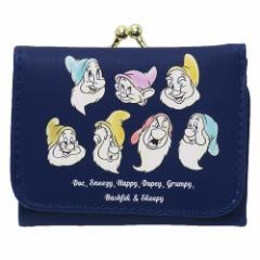 白雪姫 ミニ ウォレット 三つ折り コンパクト 財布 七人のこびと NV ディズニー ジュニア キャラクター グッズ
