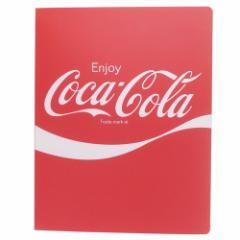 コカコーラ ルーズリーフ バインダー 増やせる ノート RED おやつマーケット 新学期準備雑貨 キャラクター グッズ