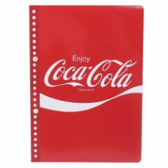 コカコーラ ルーズリーフ B5 ルーズリーフ ノート RED おやつマーケット 新学期準備雑貨 キャラクター グッズ メール便可