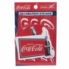 コカコーラ ミニシールセット デコレーション ステッカー NAVY おやつマーケット 3デザイン各3枚 キャラクター グッズ