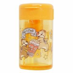 チップ&デール 鉛筆削り 円筒 シャープナー FANCY STYLE #11 ディズニー 新学期準備雑貨 キャラクター グッズ
