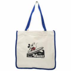 ミッキーマウス トートバッグ TALL トールキャンバストート サーフ ディズニー 34.5×33×14cm キャラクター グッズ