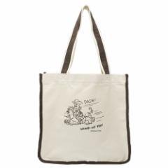 トイストーリー トートバッグ TALL トールキャンバストート ウッディ ディズニー 34.5×33×16cm キャラクター グッズ