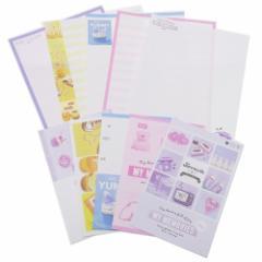 トレンドレター レターセット 手紙セット VIOLET MEMORIES 便箋 封筒 ステーショナリー グッズ メール便可