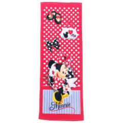 ミニーマウス プールタオル 子供 小学生 バスタオル おめかしミニー ディズニー 40×110cm キャラクター グッズ