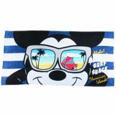ミッキーマウス 大判 バスタオル ビーチタオル レジャー バスタオル クールサングラス ディズニー 70×140cm キャラクター グッズ